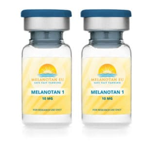 Melanotan 1 – 10mg Vial Twin Pack